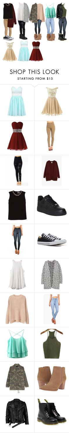 """looks Stella Argent"" by mayara-loca ❤ liked on Polyvore featuring Monki, Erdem, NIKE, Vibrant, Converse, RVCA, MANGO, Yves Saint Laurent, Franco Sarto and VIPARO"