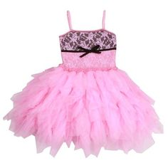 47b8dcbe03b9 Ooh La La Couture Pink Lady Lace Emma Dress Ooh La La Couture, Girls Special