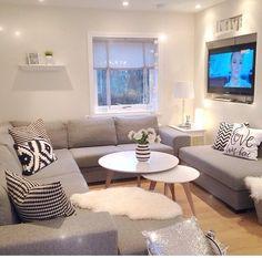 Grey livingroom inspiration.