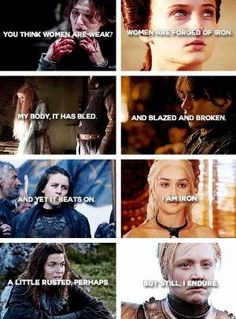 Game of Thrones ladies + iron by tiffany Got Game Of Thrones, Game Of Thrones Quotes, Sansa Stark, Winter Is Here, Winter Is Coming, The North Remembers, Got Memes, Valar Morghulis, Valar Dohaeris