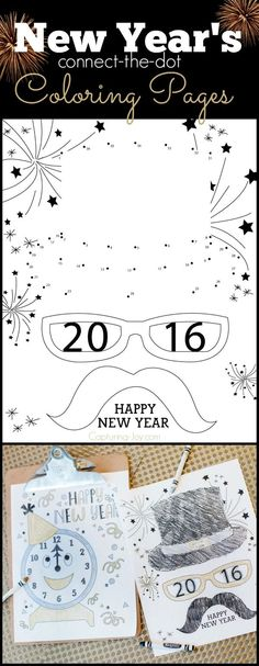 New Years trivia for kids - New Years activities for kids - party - copy new years eve coloring pages printable