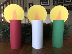 Make this super easy Christmas candle craft with kids. Kids love making them! crafts for kids Easy Christmas Candle Craft - Grandma Ideas Christmas Crafts For Kids To Make, Preschool Christmas, Christmas Activities, Simple Christmas, Kids Christmas, Holiday Crafts, Christmas Tables, Nordic Christmas, Modern Christmas