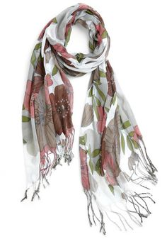 scarf - fall colors