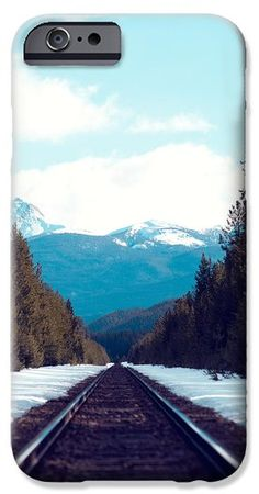 Train To Mountains IPhone 6 Case by Kim Fearheiley