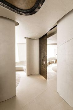 Architecture Details, Interior Architecture, Interior And Exterior, Interior Design, Ceiling Design, Wall Design, House Design, Design Art, Futuristic Architecture