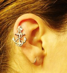 Anchor Tragus Piercing Cartilage Earring