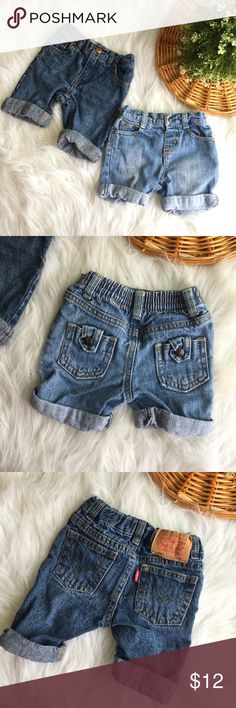 Baby boy shorts 3-9M Summer Ready.    Shorts are in great condition. Size3-9 months Levi's Bottoms Shorts