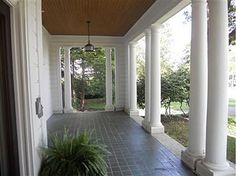 Front Porch from the Side Yard