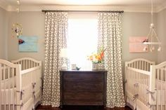 7 Sweet And Stylish Twin Baby Nurseries