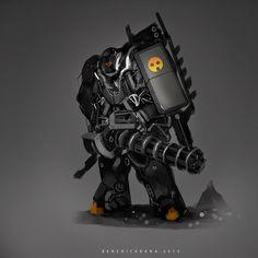 DragBuster, Benedick Bana on ArtStation at https://www.artstation.com/artwork/dragbuster