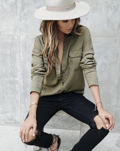 "Shop Sincerely Jules on Instagram: ""New- new: Luca Button Up!  