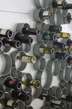 wine storage as an art installation is a fabulous idea! Installation Architecture, Art Installation, Caves, Wine Vineyards, Bottle Display, Wine Decor, Wine Collection, Wine Art, Wine Time