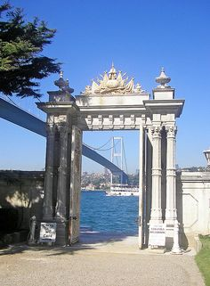 BEYLERBEYI PALACE: was built by (Armenian Architects)Balyan Family in Baroque-style for Sultan Abdulmecit, between 1861-1865, in Istanbul.