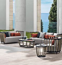 Lounge Armchair In Pickled Teak Of Swing Collection, Designed By Patrick  Norguet. Outdoor Living. Outdoor LivingModern Outdoor FurnitureOutdoor ...