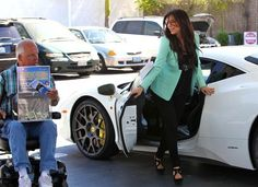 Awesome Ferrari 2017: Cool Ferrari 2017: Kim Kardashian Refuels Her Ferrari - Pictures...  Kim Kardash... Car24 - World Bayers Check more at http://car24.top/2017/2017/03/08/ferrari-2017-cool-ferrari-2017-kim-kardashian-refuels-her-ferrari-pictures-kim-ka