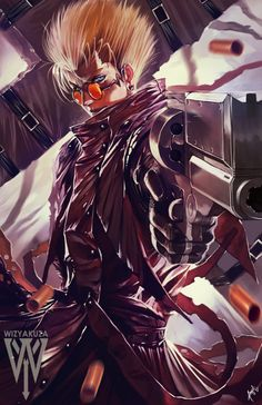 Vash by wizyakuza on @DeviantArt .........!!!!