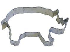 """R&M Rhino 4.75"""" Cookie Cutter in Durable, Economical, Tinplated Steel CybrTrayd http://www.amazon.com/dp/B0054YQ010/ref=cm_sw_r_pi_dp_gXq9wb1RGMKRQ"""