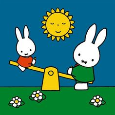 Miffy can't seem to maintain balanced relationships.