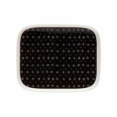 Marimekko Muija Black Small Plate