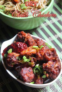 YUMMY TUMMY: Chilli Chicken Recipe / How to Make Restaurant Style Chilli Chicken Dry