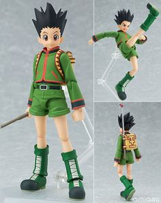 AmiAmi [Character & Hobby Shop] | figma - Hunter x Hunter: Gon Freecss(Back-order)