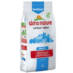 Animalerie  Almo Nature Sterilised bœuf riz pour chat  2 x 2 kg