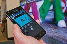 Ứng dụng đo độ sáng của tivi có mặt ở cả điện thoại Android và iOS
