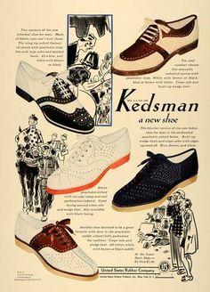 1938 Kedsman Shoes ad.