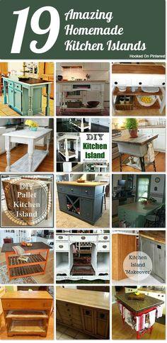 19 amazing DIY kitchen islands