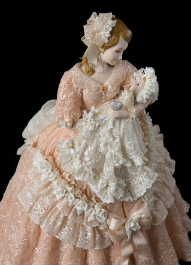 Atelier dream of wood Etsuko Sakamoto porcelain lace doll lace doll classroom