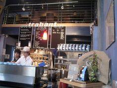 Trabant Coffee & Chai in U-District, Seattle - amazing coffee!