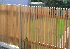 Front Fence, Rail Fence, House Gate Design, Facade Design, Wood Fence Design, Townhouse Garden, Desert Homes, Backyard, Patio