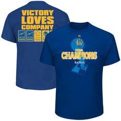 Golden State Warriors Majestic 2017 NBA Finals Champions Banner T-Shirt -  Royal f26cfeaa6