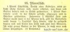 Rezept Hamburger Pfannfisch von Ada Ree, Hamburger Kochbuch um 1900