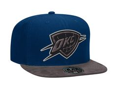 Oklahoma City Thunder Dark Agent High Crown Fitted Baseball Cap by MITCHELL & NESS x NBA