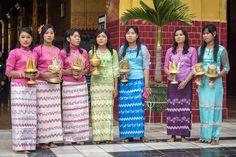longyi women - Google Search