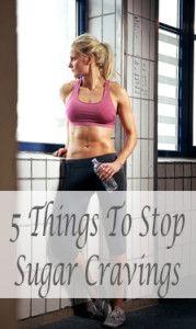 5 things to stop sugar cravings