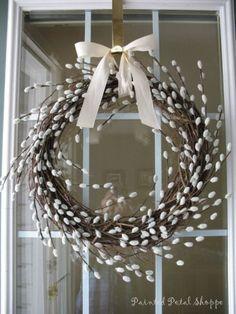 37 Hochzeitskränze im Frühling 37 spring wedding wreaths, # Wedding rings Spring Door Wreaths, Easter Wreaths, Christmas Wreaths, Christmas Decorations, Holiday Decor, Outdoor Christmas, Diy Christmas, Spring Wedding Decorations, Wedding Wreaths