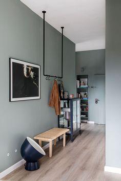 〚 Stylish modern apartment in shades of green in Israel 〛 ◾ Photos ◾Ideas◾ Design Scandinavian Interior Bedroom, Ikea Interior, Decor Scandinavian, Apartment Interior Design, Design Interior, Fabrikor Ikea, Ikea Design, Appartement Design, Dark Interiors