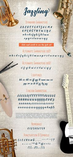 Jazzling Script & Sans - Font Duo by milenabdesign on @creativemarket