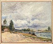 Banks of the Seine - Alfred Sisley - www.alfredsisley.org