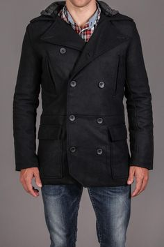 PEACOAT: I used to have one of these in college...I loved it!!