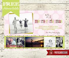Christmas Photo Card  Holiday Photo Card  DIY by PhotocardDesign, $14.50