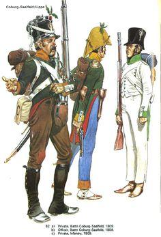 Coburg-Saalfeld & Lippe 1809