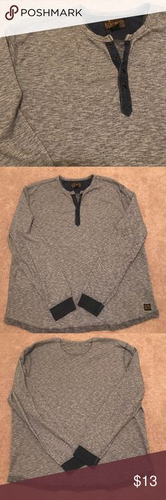 Lucky brand shirt Long sleeve tee, 100% cotton, thicker material, not the flimsy Tshirt material Lucky Brand Shirts Tees - Long Sleeve