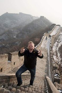 James On the great wall Wdsta1