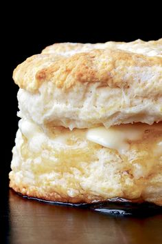 Biscuits are what take us into the kitchen today to cook: fat, flaky mounds of quick bread, golden brown, with a significant crumb. Composed of flour, baking powder, fat and a liquid, then baked in a hot oven, they are an excellent sop for sorghum syrup, molasses or honey. (Photo: Marcus Nilsson for The New York Times)