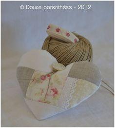 heart of linen & roses romantique coeur