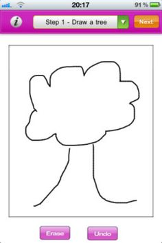 Draw Me A Tree is not meant to take the place of professional mental health counseling. It is simply a very useful and entertaining tool to start a conversation and develop rapport. iPhone App Developed & Designed by Software Developers India.