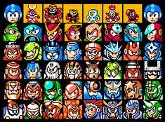 Mega Man villains 1 - 6